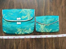Satin Eveningwear Clutch Vintage Bags & Cases