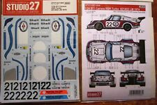 DECAL: 1/24 S271204 1974 MARTINI PORSCHE RSR TURBO #21/22 LEMANS