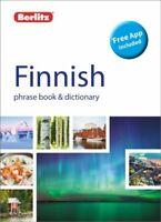 Berlitz Phrase Book & Dictionary Finnish (Bilingual dictionary) 978178004491