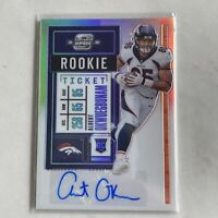 Albert Okwuegbunam 2020 Contenders Optic Rookie Auto Denver Broncos