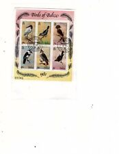 Belize stamps #500 Used sheet of 6, birds (mb11