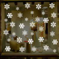 Christmas Snowflake Window Glass Wall Sticker Removable DIY Shop Xmas Decals D