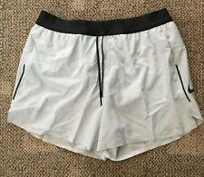Nike Tech Pack Mens Running Shorts Barely Gray Size XL AQ6470-005