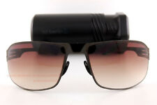 Brand New ic!berlin Sunglasses 101 Zehlendorf Gunmetal/Brown Gradient Men Women