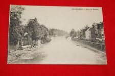 BELGIQUE CHARLEROI QUAI DE NAMUR 1908  R671