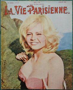 La Vie Parisienne #127 pin-up magazine Brigitte Bardot - Marilyn Monroe
