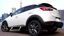 For Mazda CX-3 2015-2018 ABS Chrome Car Side Body Molding Strip Cover Trim 4pcs