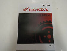 1991 1992 1993 1994 1995 Honda EZ90 Cub Service Repair Shop Manual FACTORY NEW