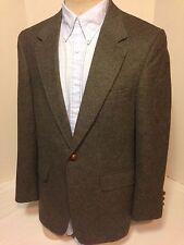 Nordstrom Grey Flannel Camel Hair Blazer Jacket Sportcoat
