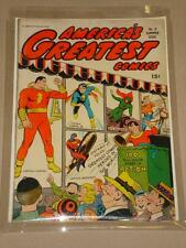 AMERICA'S GREATEST COMICS #8 FN (6.0) COMIC FAWCETT MARVEL