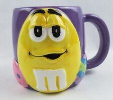 M&M Yellow Peanut Purple Coffee Mug Easter Eggs Tea Cup M&Ms Mars Galerie