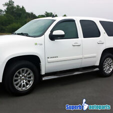 """4"""" Oval 00-14 Chevy Tahoe GMC Yukon Polished Side Step Nerf Bars Running Boards"""