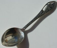 Vtg Sterling Silver Spoon Souvenir Demitasse Hollywood CA NBC Studio Television