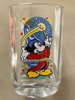 Walt Disney World Epcot McDonalds Glass Featuring Mickey Mouse Collectable 2000