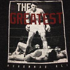 Muhammad Ali Gray XL T-Shirt Greatest Boxing Athlete Cassius Clay
