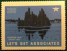 #180 Phantom Ship - Crater Lake - Let's Get Associated, Flying A Gas & Oil Co.