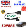 Skoda SUPERB Audio Cable For HTC LG BLACKBERRY SONY NOKIA Micro & AUX 3.5mm