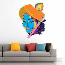 Lord Krishna Playing Flute Wall Sticker Decal Kids Nursery Baby Room Décor