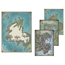 D&D Tomb of Annihilation Map Set - Set di 4 mappe in vinile GF972783