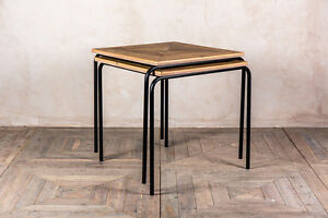 STACKING CAFE TABLES SMALL STACKABLE RESTAURANT TABLES SQUARE BAR CAFE TABLE