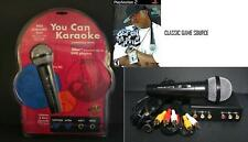Heavy Duty Dynamic Karaoke Mic Microphone + CD PS2 PS3