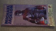 Biglietto Ticket Concerto Michael Jackson History World Tour 1997 Milano Meazza