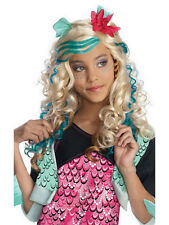 Con licenza BAMBINO Lagoona Blue Parrucca Costume Monster High Halloween Costume Kids