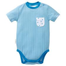 BNWT - BABY BOYS SIZE 0 6-12MONTHS BLUE BODYSUIT - NEW