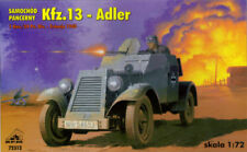 KFZ 13 ADLER - WW II GERMAN ARMOURED CAR (WEHRMACHT MKGS) 1/72 RPM