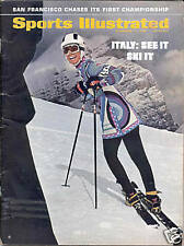 Sports Illustrated 1969 SWIMSUIT Ski Fashions ITALY No Label