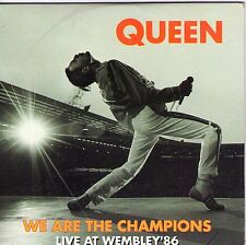 CD CARTONNE CARDSLEEVE 2T QUEEN WE ARE THE CHAMPIONS LIVE AT WEMBLEY'86 TBE 1992
