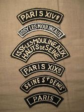 Rotes Kreuz Aufnäher Abzeichen Patches Croix Rouge France 6 Stück