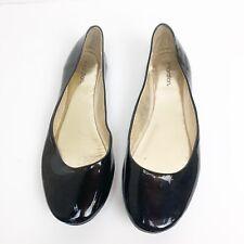 Xhilaration Low Cut Ballet Flats sz 6.5 Black Patent Leather
