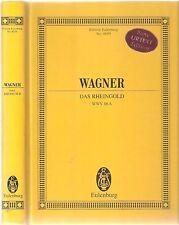 Richard Wagner, Das Rheingold WWV.86a Eulenburg 8059
