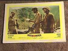 MEN IN WAR 1957 LOBBY CARD #8