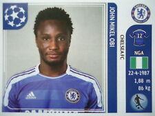 PANINI 286 John Obi Mikel Chelsea FC UEFA CL 2011/12