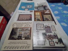 Lot Of 6 craft books Antiques, Colonial, Legacy, Books, Kitchen Cross-Stitch