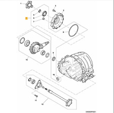 Bentley Continental Flying Spur Front Differential Repair Kit 3W0498147