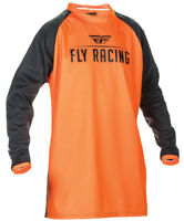 FLY RACING WINDPROOF TECHNICAL MOTO JERSEY FLO ORANGE SIZE X-LARGE XL 370-807X