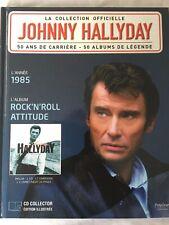 Johnny Hallyday La collection officielle Livre CD Rock'n'roll attitude