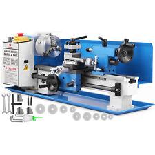 550w Mini Metal Lathe Metalworking Tool Variable Speed DIY Processing Bench Top