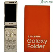 BNIB SAMSUNG GALAXY FOLDER SM-G150 WHITE 8GB FACTORY UNLOCKED 4G/LTE SIMFREE