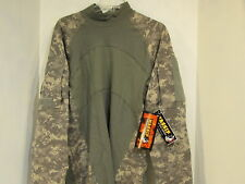 US MILITARY ACU COMBAT SHIRT, EXTRA LARGE BY MASSIF NEW