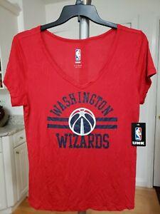 Washington Wizards Shirt Womens Size X Large NBA Red. MSRP $30.