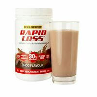 3x Rapid Loss Chocolate Meal Replacement Weight Loss Management Gluten Free