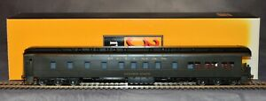 3rd rail Sunset Models 2-Rail Brass O-Scale Pullman Observation GoldenState Used
