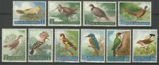Saint Marin San Marino Oiseaux Martin Pecheur Hoopoe Birds Fasan Vogel ** 1960