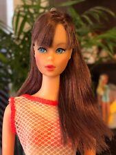 Vintage Barbie TNT - BEAUTIFUL Black Cherry Burgundy- Rare HTF Mod Doll