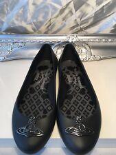 Vivienne Westwood Melissa Space Love Orb Detail Black Pumps Size 39 Uk 6