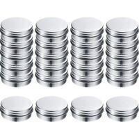 Screw Top Round Aluminum Tins Cans-Aluminum Screw Lid Round Tin Container B Y3J8